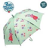 Peter Rabbit & Friends Lily Bobtail Adventurer - Paraguas para niña, diseño de Beatrix Potter