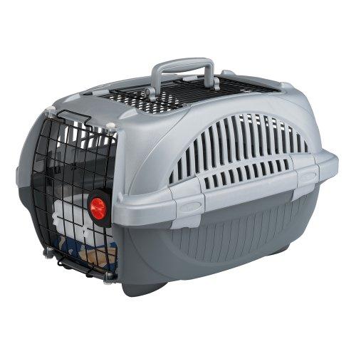 Ferplast 73040899W1 Transportbox ATLAS DELUXE 20 OPEN, für Katzen und Hunde, 37,4 x 57,6 x 33 cm, - Verschiedene Modell