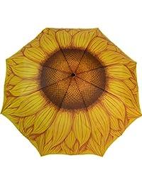 Artbrollie - paraguas con forma de Mujer - de girasol