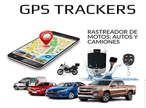 TKSTAR Rastreador GPS Coche Vehículo Motocicleta GPS Localizador GPS Tracker con Tiempo...