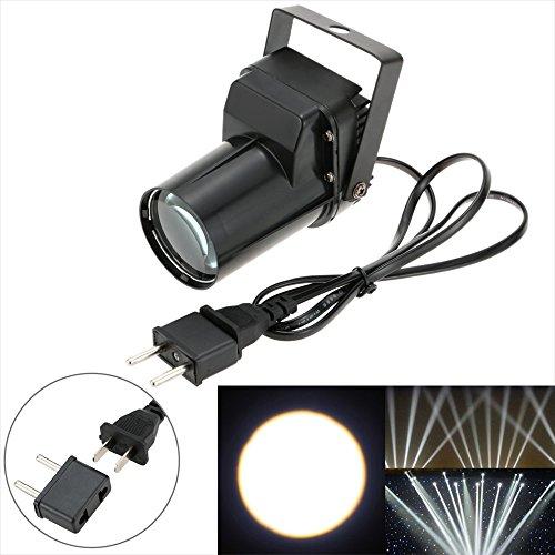 Docooler Mini Luce Della Fase AC 90-240V 3W LED Singolo Fascio Quadrettato Effetto per Negozio Partito Angolo Cieco
