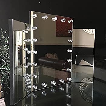 Beautify Mirror With Led Light For Dressing Table Top