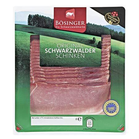 Bösinger Schwarzwälder Schinken geschnitten 500 g Packung