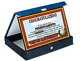 Targa Pensione Congratulazioni