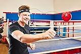 Boxaball, palla da boxe per i riflessi, ideale per l'allenamento, per migliorare la reattività e la velocità, attrezzatura da boxe, ottima per allenamento e fitness