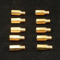 yunshuo principal JET para Keihin Oko Koso PE PWK carburador tamaño 105–128105,108,110,112,115,118,120,122,125,128,10paquetes