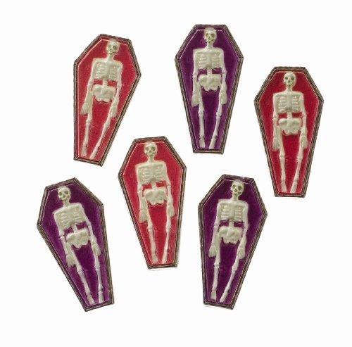 Jolee 's Boutique Scrapbooking Verzierungen, Mini Skelett Särge
