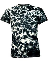 Batik Tie Dye T-Shirt Crunchy schwarz Herren