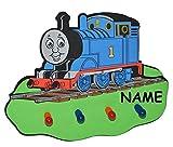 Unbekannt 3-D Kindergarderobe - Thomas die Lokomotive incl. Namen - mit 4 Kleiderhaken M..