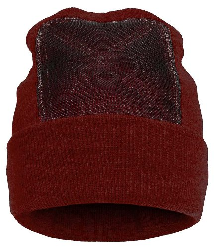 BACKSPIN FUNCTION WEAR 'Beanie' Headspin-Cap - maroon - OneSize