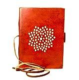 #7: WerKens Leather Journal Travel Diary an Exclusive HandMade Paper Notebook - WKDLIN0003