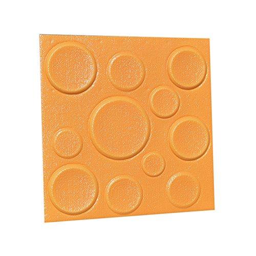 Zegeey Home Rom Decor 3D Selbstklebende Wandaufkleber Dekor Fliese Wasserdichte Kunst Wandaufkleber 2 STÜCK PE-Schaum