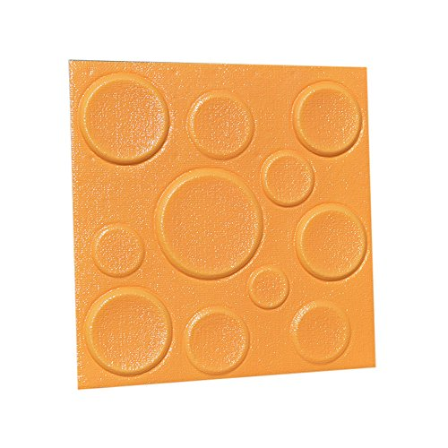 Heimbrauen & Weinbereitung,Dekoartikel,VRTYOC 2 Stücke PE Schaum 3D selbstklebende Wandaufkleber Dekor Fliesen Wasserdichte Wandaufkleber (30 X 30 X 0.8cm, C)
