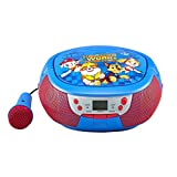 Paw Patrol CD Boombox With Microphone And AM/FM Radio