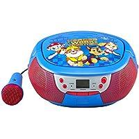 La Pat' Patrouille Lecteur CD Boombox Avec Micro Et Radio AM/FM