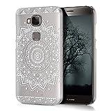 kwmobile Crystal Case Hülle für Huawei G8 / GX8 mit Blume