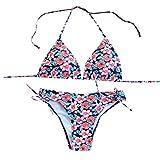 CICIYONER Bikini Badeanzug für Damen Sommer Frauen brasilianischen Bikini Set Bademode Halter Weste Tops Badeanzug Strand Badeanzüge S-XL