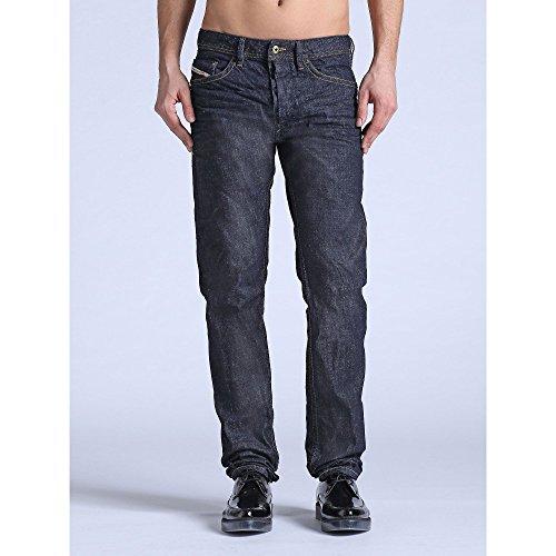Diesel Braddom 0807R Herren Jeans Hose Slim Carrot Blau