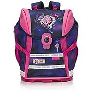 Mc Neill Set de sacs scolaires, Violett/Rosa (Multicolore) - 9616162000