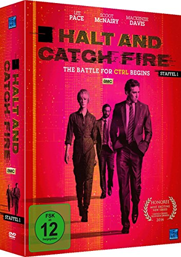 Halt and Catch Fire – The Battle For CRTL Begins [AMC] Staffel 1 (Episode 1-10 im 4 Disc Set)