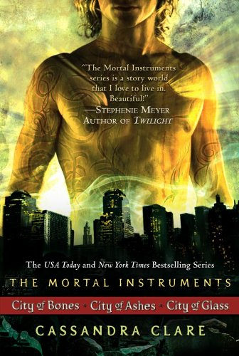 Book cover for The Mortal Instruments
