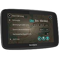 """TomTom GO PROFESSIONAL 6200 Fijo 6"""" Pantalla táctil Negro navegador - Navegador GPS (Toda Europa, 15,2 cm (6""""), 800 x 480 Pixeles, 154 ppp, Flash, MicroSD (TransFlash))- version importada"""