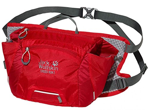 Jack Wolfskin Packs Accessoires Gürteltasche Cross Run 2 2590 red fire
