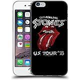 Offizielle The Rolling Stones Tour US 78 Kunst Soft Gel Hülle für Apple iPhone 6 / 6s