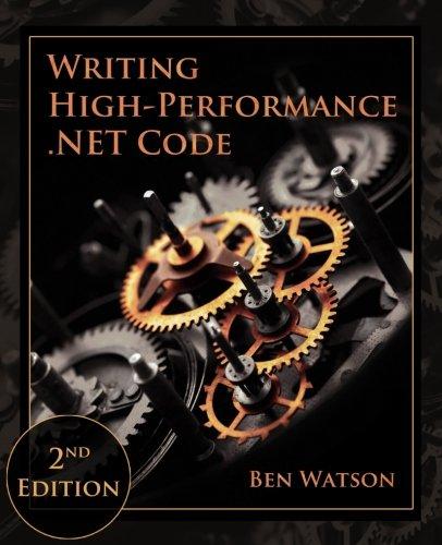 Preisvergleich Produktbild Writing High-Performance .NET Code