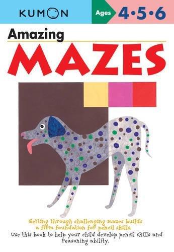 Amazing Mazes (Kumon Workbooks) por Kumon