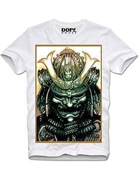 Dopehouse T-Shirt Camiseta Samurai Warrior Mask Ninja Japan Harakiri Seppuku Geisha
