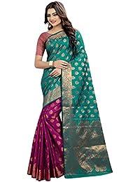 Tagline Women's Cotton Silk Saree (VSLA51040 PINK)