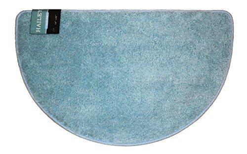 Preisvergleich Produktbild Kashi Home Hailey Collection Slice Style Bath Rug,  18 x 30 Decorative Bathroom Rug,  Light Blue by Kashi Home