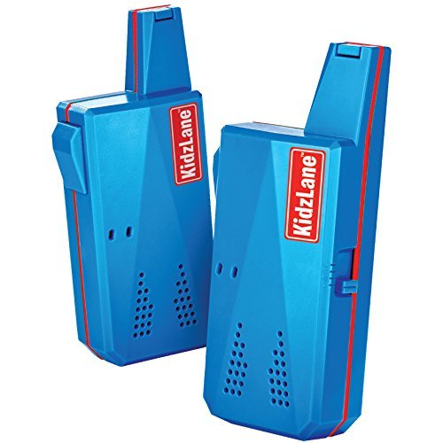 Spy Boy Gear (Durable Walkie Talkie for Kids, Easy to Use & Kids Friendly Walkie Talkie, Best Kids Walkie Talkie for Girls & Boys Ages 3 to 8, 3 KM Range and 3 Channel by Kidzlane)