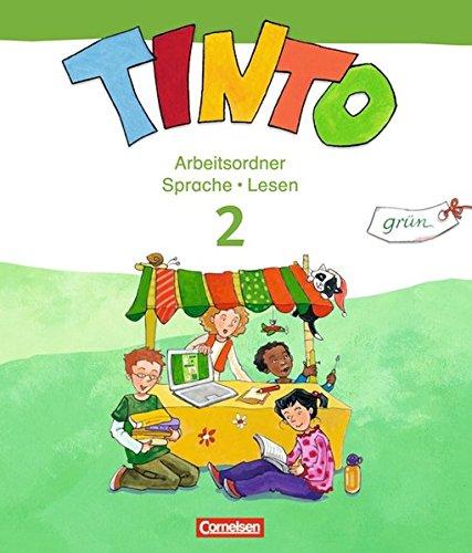 TINTO 2-4 - Sprachlesebuch 2: Grüne Ausgabe - Neubearbeitung: 2. Schuljahr - Arbeitsordner Sprache und Lesen