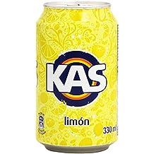 Kas refresco de Zumo de Limón con Azúcares y Edulcorante - 33 cl