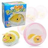 lustiges Spielzeug, ALIKEEY Elektrische Plüschtier Spielzeug Rolling Hamster Ball Kinder Spielzeug Geschenk Ornament