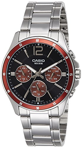 Casio Enticer Analog Black Dial Men's Watch - MTP-1374D-5AVDF (A951)