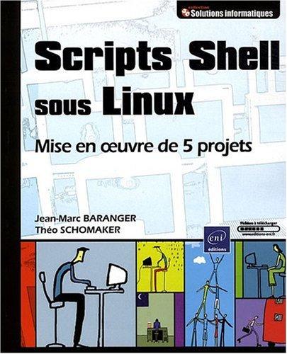 Scripts Shell sous Linux - Mise en Oeuvre de 5 projets par Théo SCHOMAKER