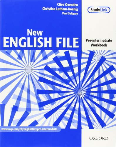 New English File: Pre-intermediate: Workbook: Six-level general English course for adults: Workbook Pre-intermediate lev por Clive Oxenden