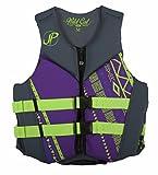 Jet Pilot Women's Wildcat U.S Coast Guard Approved PFD Vest, X-Large, Purple