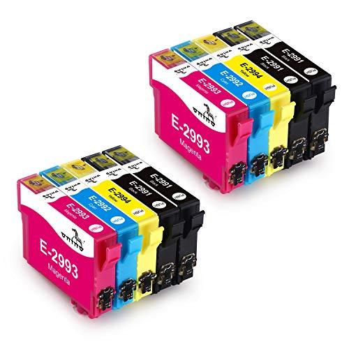 ONINO Cartucce d'inchiostro 29XL XP-342 XP-452 XP-345 XP-255 XP-245 XP-247 XP-235 XP-332 XP-442 XP-445 (10pcs)