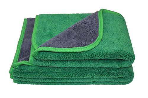 Hope shine toalla de toallas de microfibra coche paños de limpieza de pulido cera polaco de grosor para lavar el coche auto Detailing