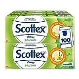 Scottex Balsam Fazzoletti, 10 Confezioni da 10 Pacchetti