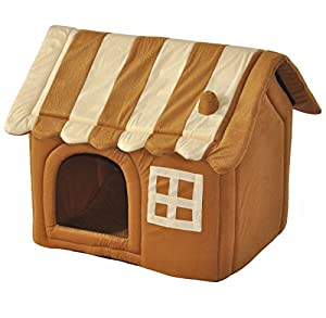 """nanook maison niche corbeille pour chat / chien """"Caramel"""" - Taille XL 56 cm"""