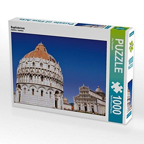 Baptisterium 1000 Teile Puzzle quer -