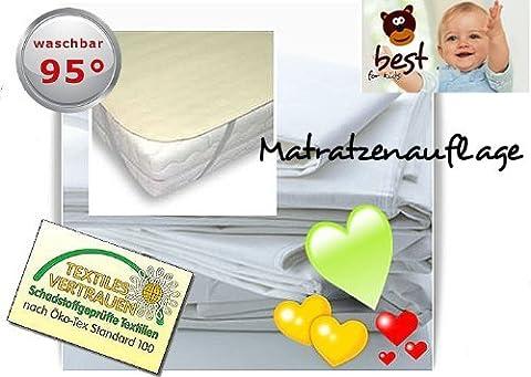 4myBaby BESONDERE TECHNIK Matratzenschutz Wasserdicht Matratzenschoner Wasserdichte Betteinlage MOLTON (100% Baumwolle) 70x160 cm