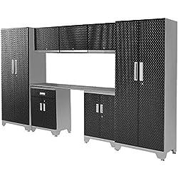 Frontier garaje almacenamiento pared equipado armarios cajones taller mecánico