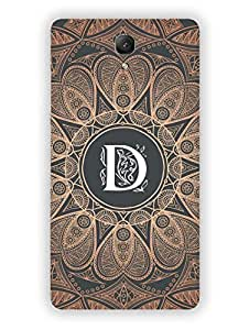 RedMi 1S Back Cover - Initial D - Classy And Personalised - Designer Printed Hard Shell Case