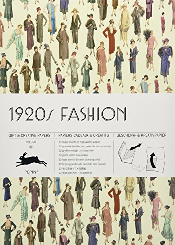 1920s Fashion: Gift & Creative Paper Book Vol  10 (Gift Wrapping Paper Book)